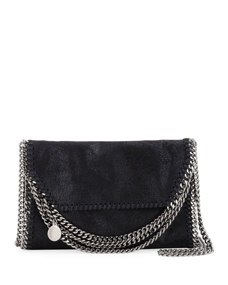 Image 1 of 1: Falabella Multi-Chain Foldover Crossbody Bag