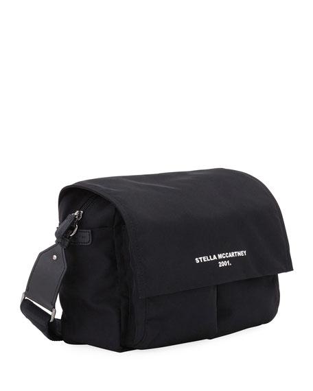 Medium Eco Nylon Logo Shoulder Bag