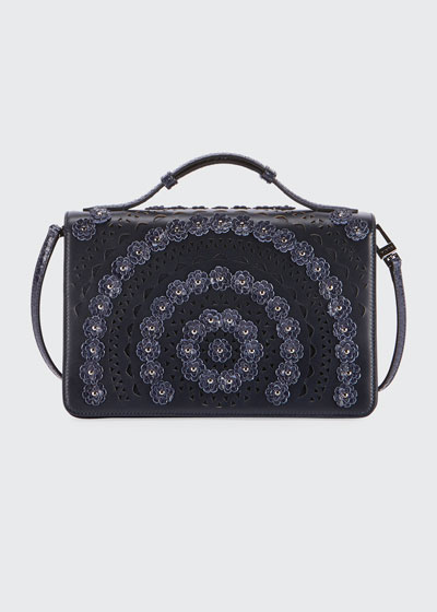 Franca Medium Vienne Fleur Shoulder Bag