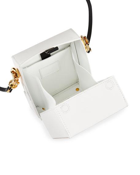 Shoes Two-Tone Box Shoulder Bag