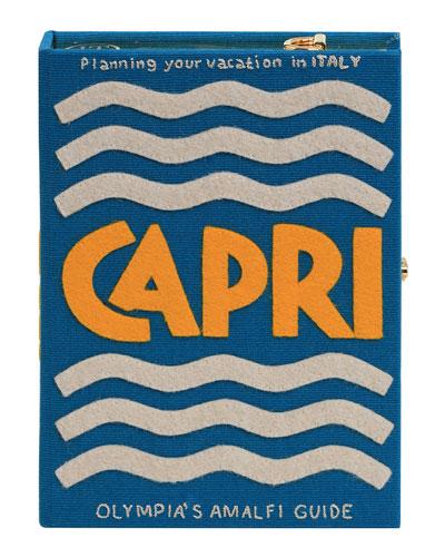 Capri Strapped Book Clutch Bag
