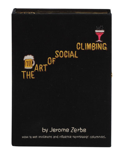 The Art Of Social Climbing Box Clutch Bag
