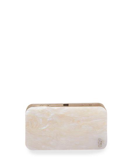 Abalon Acrylic Clutch Bag
