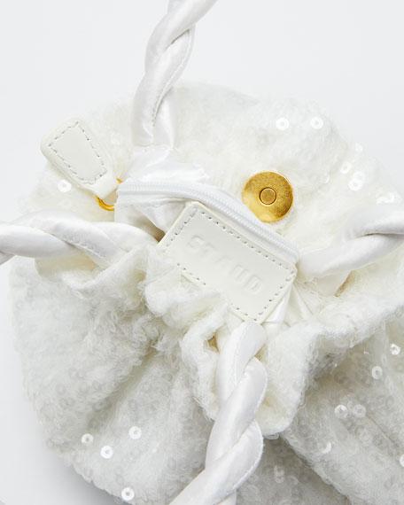Sequin Grace Top Handle Bag