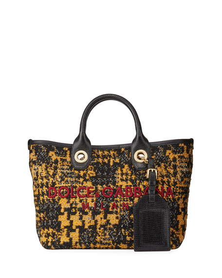 Boucle Small Shopping Tote Bag