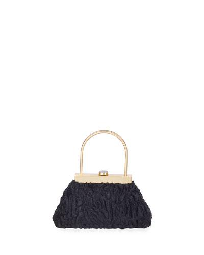 Estelle Mini Ruffle Top Handle Bag