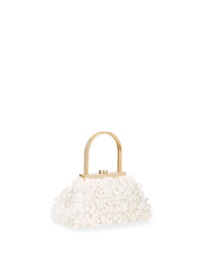 Estelle Mini Ruffle Top Handle Bag