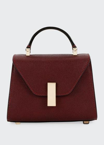 Iside Micro Saffiano Top-Handle Bag