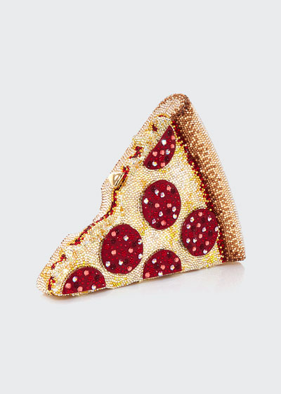 Pepperoni Pizza Clutch Bag