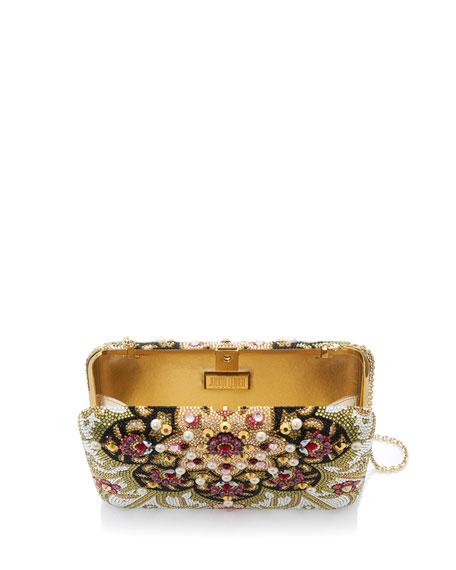 Seamless Heriz Box Clutch Bag