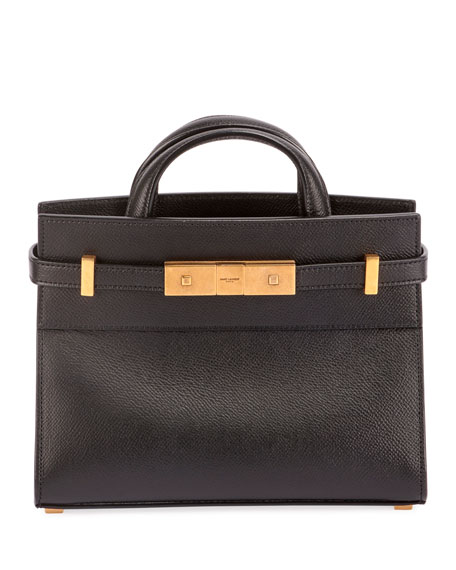 Manhattan Belted Leather Tote Bag