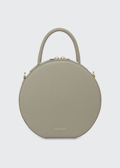 Saffiano Circle Crossbody Bag