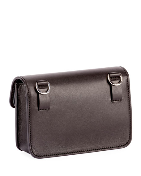 PS11 Smooth Leather Belt Bag