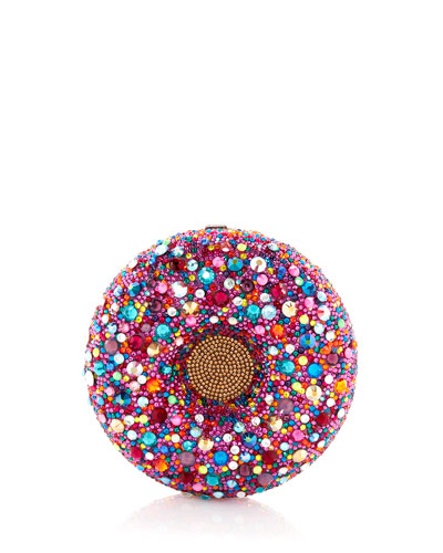 Confetti Donut Clutch Bag