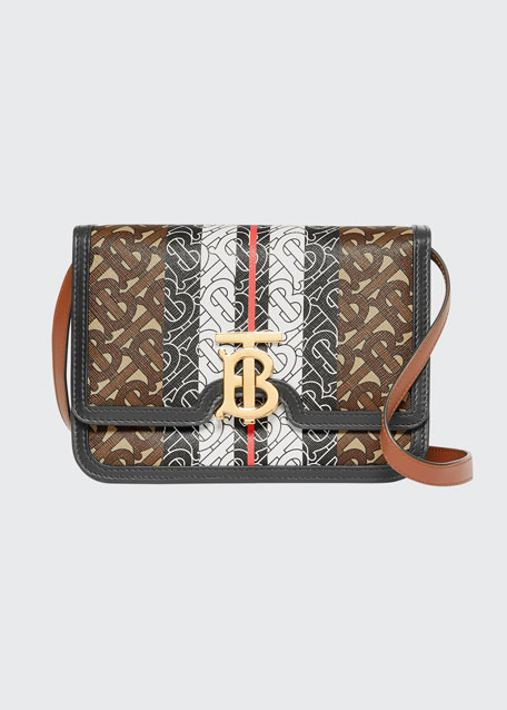 Small TB Monogram Crossbody Bag