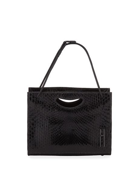 Mini 1712 Python Basket Tote Bag