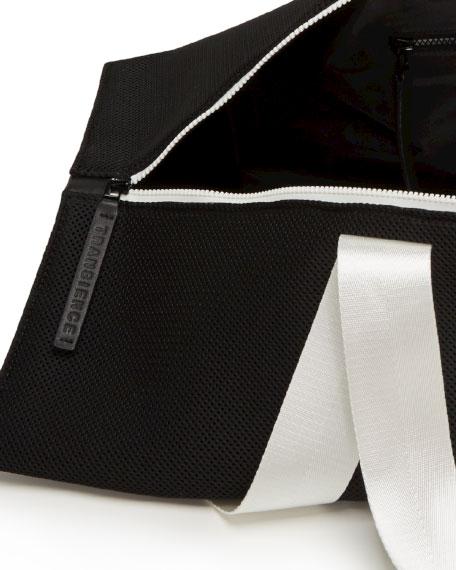 Two-Tone Zip-Top Yoga/Gym Bag