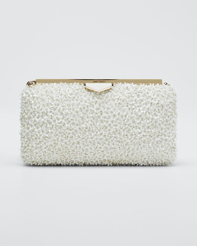 Ellipse Mini Floral Clutch Bag