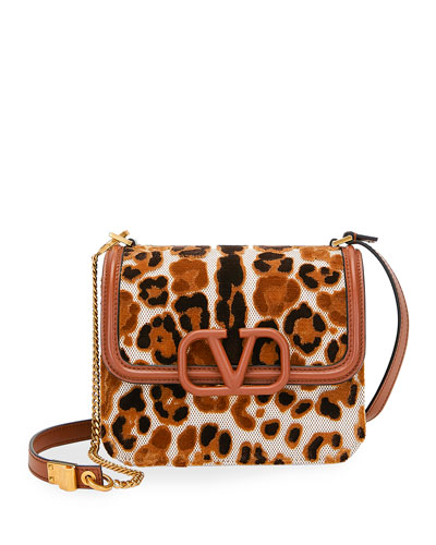 VSLING Small Leopard Shoulder Bag