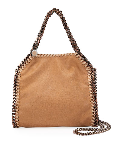 Falabella Mini Shaggy Deer Tote Bag