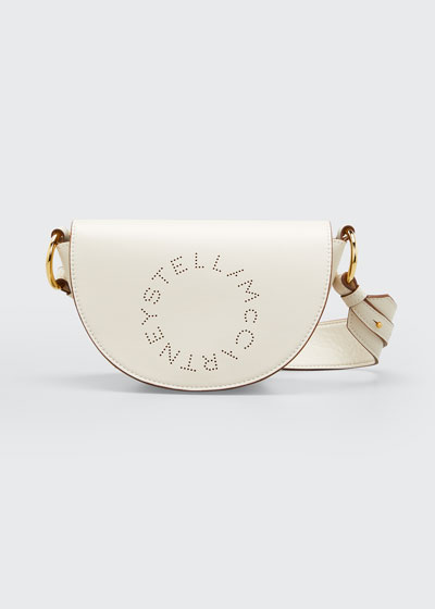 Logo Flap-Top Shoulder Bag