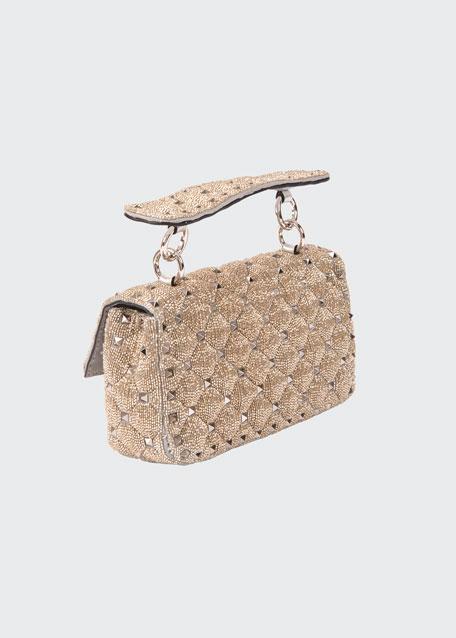 Spike It Studded Top-Handle Bag