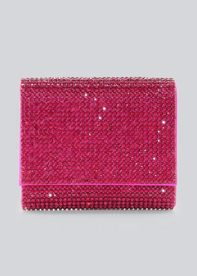 Micro Fizzy Beaded Clutch Bag