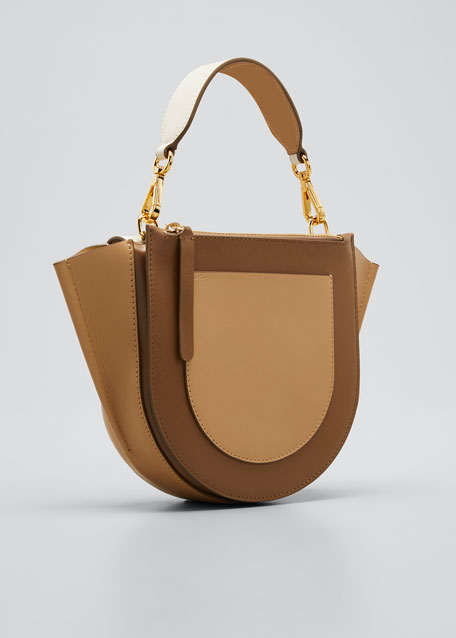 Hortensia Mini Calf Top-Handle Bag