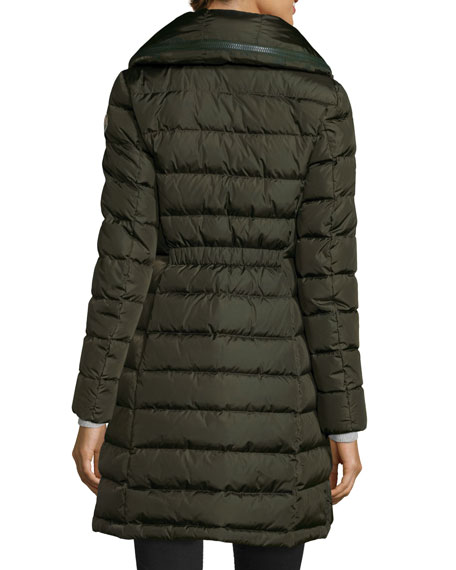 Quilted Mid-Length Puffer Coat