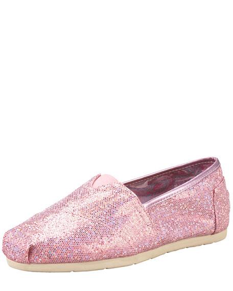 Exclusive Glitter Slip-On