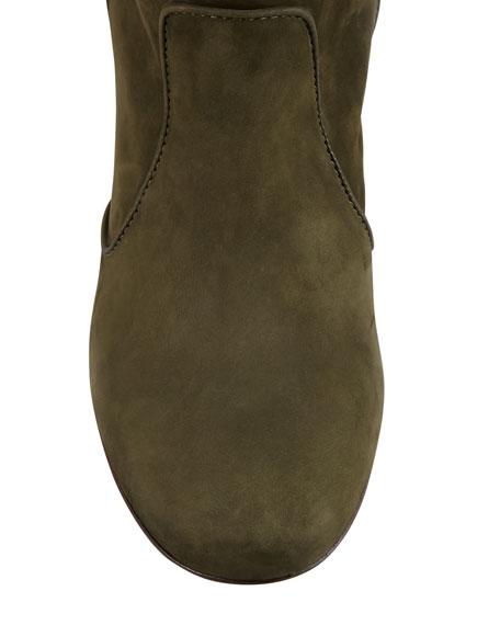 Pete Nubuck Ankle Boot, Khaki