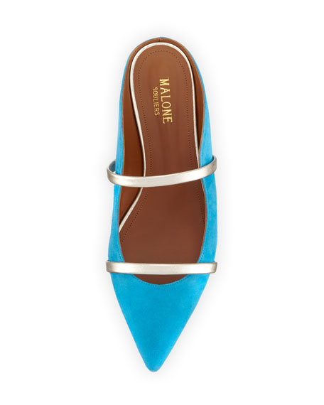 Maureen Suede Slip-On Flat