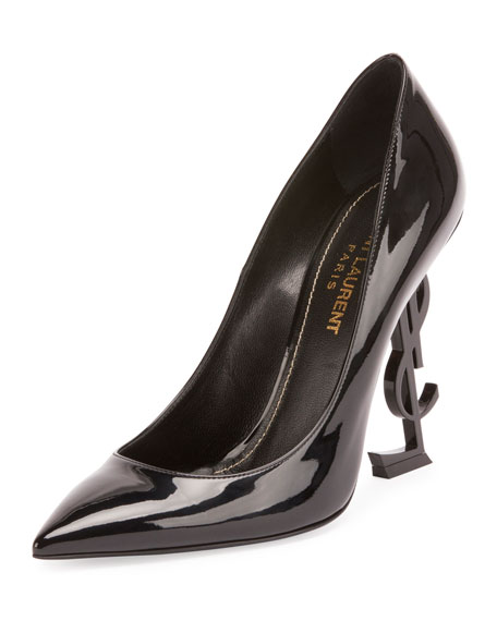 e5f66901c64 Saint Laurent Patent 110mm YSL-Heel Pumps