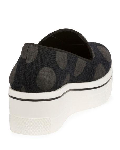Binx Polka Dot Platform Loafer