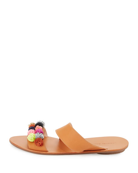 Clem Pompom Slide Sandal
