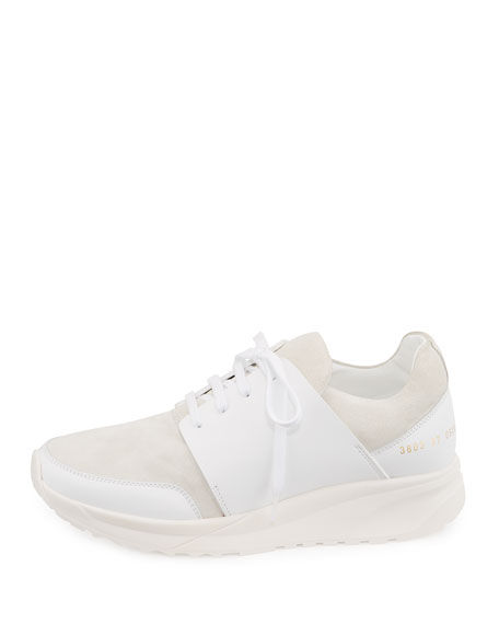 Suede & Leather Sneaker