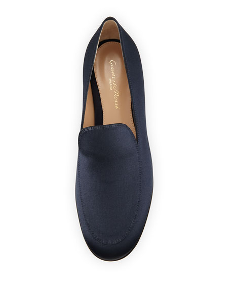 Satin Slip-On Loafer