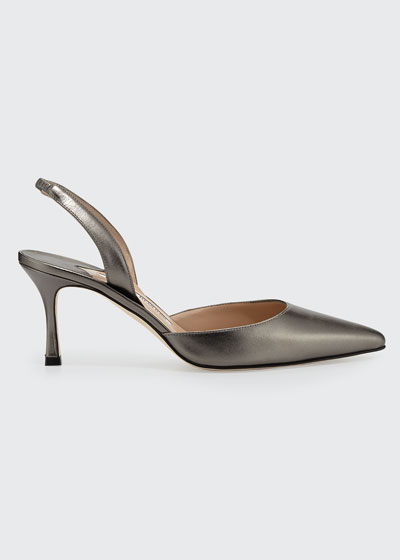 Carolyne011 70mm Leather Sli