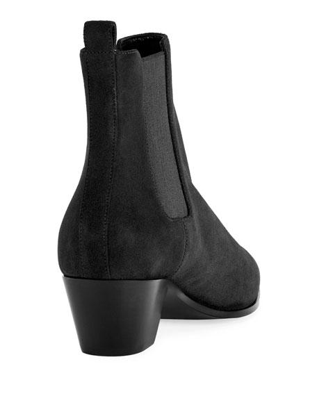 Rock Suede Chelsea Boot