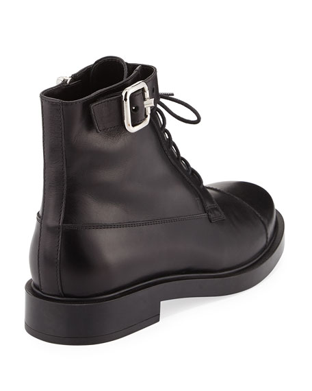 Tod's Lace-Up Combat Ankle Boots clearance with credit card clearance store cheap price cheap price buy discount lPKsk9Xvub