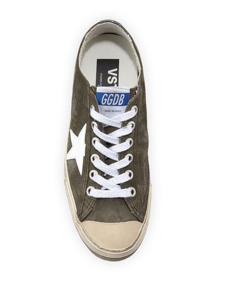V-Star Suede Low-Top Sneaker, Olive