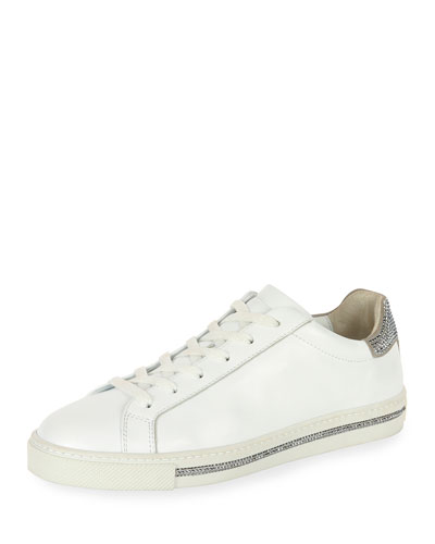 White Calf/Suede L Chrome St