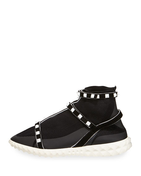 Rockstud Body-Tech Sock Sneaker