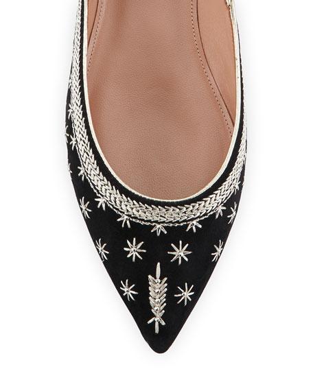 Bliss Ankle-Wrap Ballerina Flat