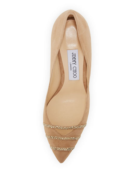 Bethany Suede 85mm Pump
