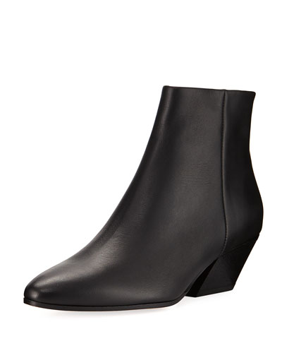 Vaughn Leather Ankle Boot