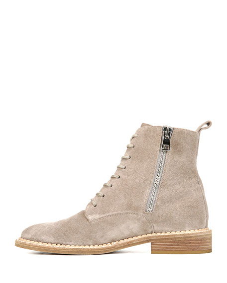 Cabria Sport Suede Lace-Up Boot