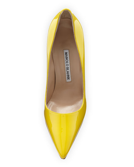 BB Patent 105mm Pointed-Toe Pumps
