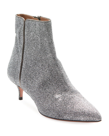 Image 1 of 1: Quant Stretch Glitter Booties