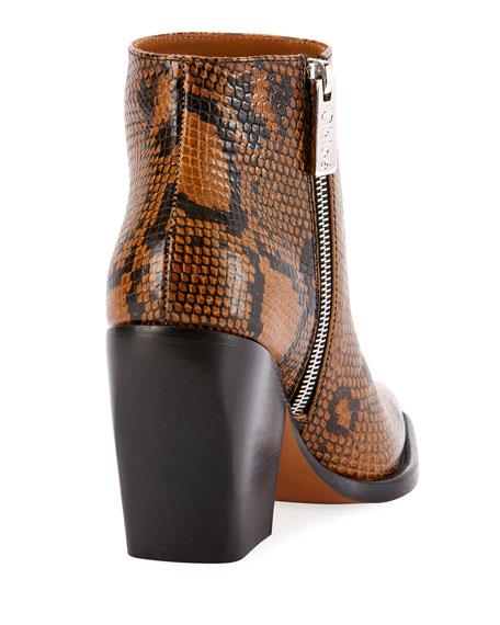 Rylee 90MM Block Heel Western Booties